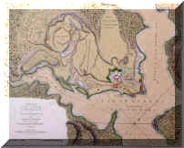 Map of Fort Ticonderoga